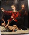 Scuola fiamminga, madonna del velo, da raffaello, xvi sec.JPG