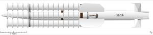 Seaslug (missile) - Seaslug Mk. II missile