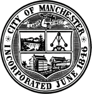 Official seal of Manchester, New Hampshire