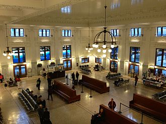 King Street Station - Remodeled interior of King Street Station