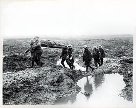 Second Battle of Passchendaele - wounded