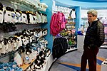 Secretary Kerry Looks Over Toy Penguins in a Gift Shop at the International Antarctic Center in Christchurch, New Zealand (30594589140).jpg
