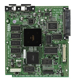 Dreamcast - Mainboard of a Dreamcast console.