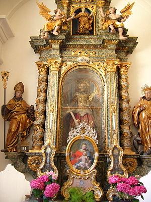 Ursberg Abbey - Image: Seitenaltar Ursberg