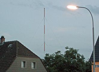 Grafenwöhr - Image: Sendemast Grafenwoehr