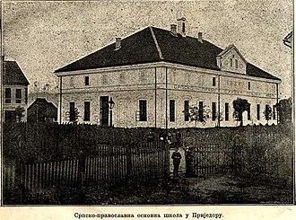 Prijedor - Serbian Elementary School in Prijedor in 1889