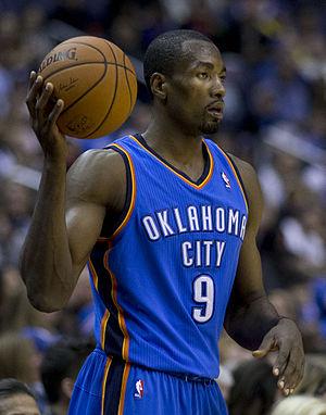 Serge Ibaka - Ibaka with the Oklahoma City Thunder
