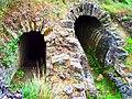 Sernhac Une des parties souterraines de l'aqueduc de Nîmes.JPG