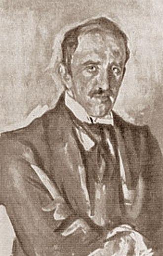 Paolo Troubetzkoy - Portrait of Paolo Troubetzkoy by Valentin Serov