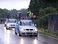 Service cars, Womens Olympic road race, Richmond (7669902826).jpg