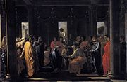 Seven Sacraments - Marriage II (1647-1648) Nicolas Poussin.jpg