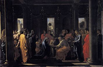 Nicolas Poussin, Il Matrimonio, Edimburgo, National Galleries of Scorland