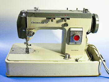 Sewing machine, type Calanda 17