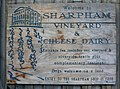 Sharpham Vineyard sign - geograph.org.uk - 533799.jpg