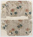 Sheet with floral pattern with a repeating line background Met DP887159.jpg