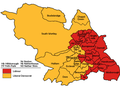 Sheffield UK local election 2003 map.png