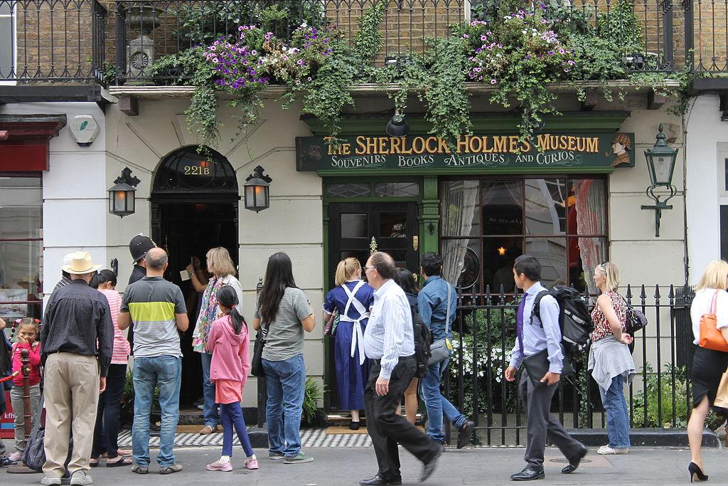 Museo Sherlock Holmes, en Londres.