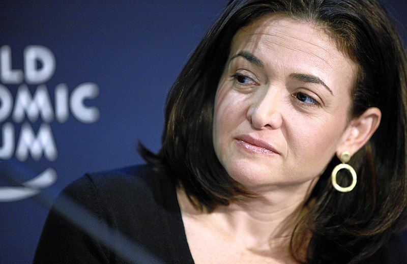 Sheryl Sandberg from Wikimedia Commons