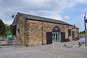 National Railway Museum Shildon - Image: Shildon Goods Shed geograph.org.uk 2532059