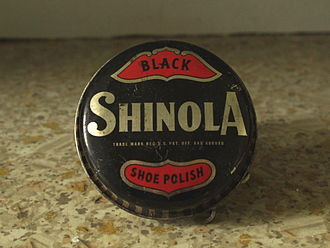 Shinola (retail company) - A tin of original Shinola