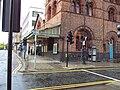 Side view, Hamilton Square station building.JPG