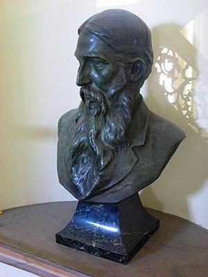 Ephraim Keyser - Bust of poet Sidney Lanier, by Ephraim Keyser