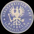 Siegelmarke Bürgermeister-Amt Büsbach W0343149.jpg