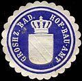 Siegelmarke Groshz. Badisches Hof-Bau-Amt W0301801.jpg