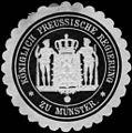 Siegelmarke Königlich Preussische Regierung zu Münster W0216787.jpg