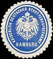Siegelmarke Kaiserlich Deutsches Stadt - Fernsprechamt Hamburg W0228813.jpg