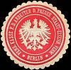 Siegelmarke Pensions Kasse für die Arbeiter der Preussischen Staats - Eisenbahn Verwaltung - Berlin W0220672.jpg