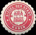 Siegelmarke Siegel der Stadt Guben W0210766.jpg