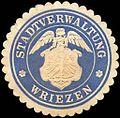 Siegelmarke Stadtverwaltung Wriezen W0216053.jpg