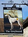 Sign for the Greyhound - geograph.org.uk - 1709084.jpg