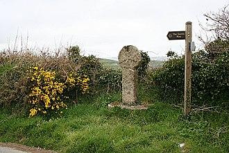 Lanivet - St Ingunger Cross