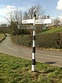Signpost near Shipbrook Hill Farm - geograph.org.uk - 1196917.jpg