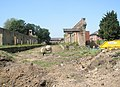 Signs of an imminent start for the new flats at the old railway station - geograph.org.uk - 1327341.jpg