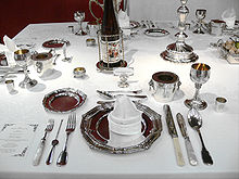 ... , especially on formal occasions; the long utensil is a lobster pick