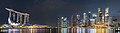 Singapore Marina Bay at night; February 2018.jpg