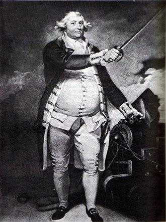 Sir Charles Douglas, 1st Baronet - Admiral Sir Charles Douglas