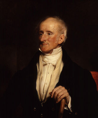 Francis Burdett - portrait by Sir Martin Archer Shee