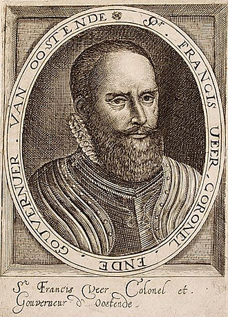 Anglo-Spanish War (1585–1604) - Sir Francis Vere, commander of Elizabeth's forces in the Low Countries 1589-1604