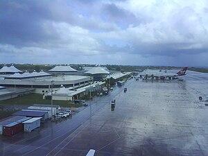 Grantley Adams International Airport - Both arrivals and departures terminals