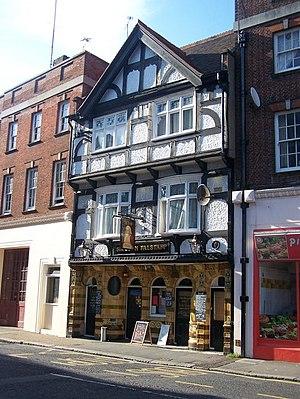 English: Sir John Falstaff Pub, Dover On 8 Lad...
