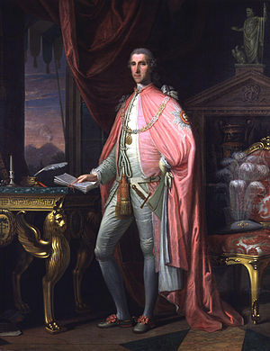 William Hamilton (diplomat) - Image: Sir William Hamilton by David Allan