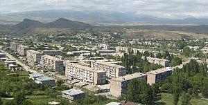Sisian - General view of Sisian