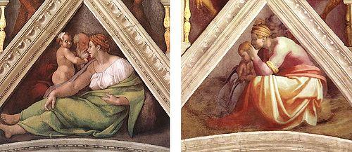 Sistine Chapel TwoSpandrels