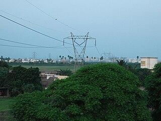 Sholinganallur Neighbourhood in Tamil Nadu, India