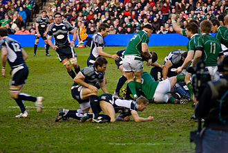 2009 Six Nations Championship - During Ireland's 22–15 victory over Scotland on 14 March 2009