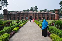 The Shait Gumbad Mosque in Bagerhat